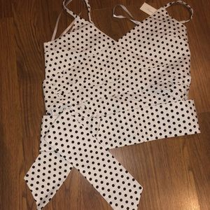 Wrap crop top, new with tags
